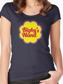 Bigby's Hand (Chupa Chups Logo) - Critical Role Quotes Women's Fitted Scoop T-Shirt