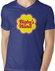 Bigby's Hand (Chupa Chups Logo) - Critical Role Quotes Mens V-Neck T-Shirt