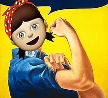 We Can Do It! - J. Howard Miller by Emojinal Art