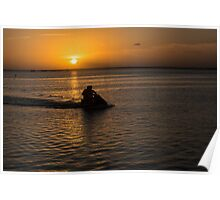 Sunset Scoot Poster