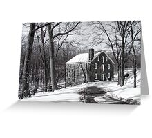 Cooper Mill Christmas Greeting Card
