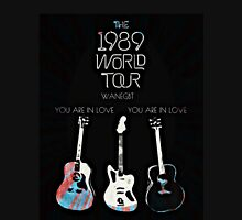 the 1989 world tour guitars Unisex T-Shirt