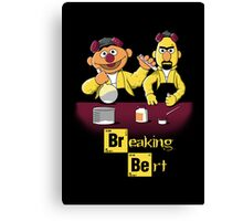 Breaking Bert Canvas Print