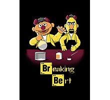 Breaking Bert Photographic Print