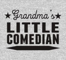 Grandma's Little Comedian One Piece - Long Sleeve
