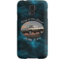 Chevy Silverado Truck King Of The Road Samsung Galaxy Case/Skin