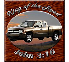Chevy Silverado Truck King Of The Road Photographic Print