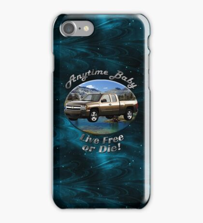 Chevy Silverado Truck Anytime Baby iPhone Case/Skin