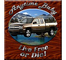 Chevy Silverado Truck Anytime Baby Photographic Print