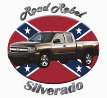 Chevy Silverado Truck Road Rebel by hotcarshirts