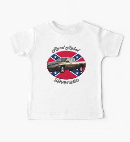 Chevy Silverado Truck Road Rebel Baby Tee