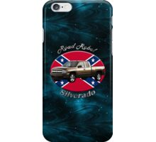 Chevy Silverado Truck Road Rebel iPhone Case/Skin