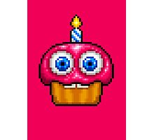 Adventure Toy Cupcake - FNAF World - Pixel Art Photographic Print