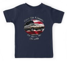 Chevy Silverado Truck Give Me Liberty Kids Tee