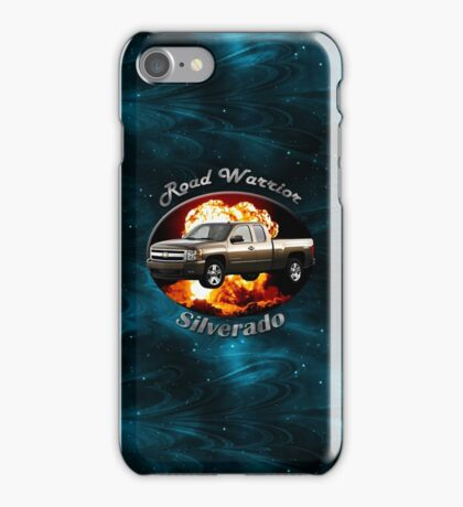 Chevy Silverado Truck Road Warrior iPhone Case/Skin