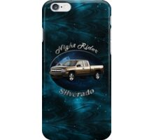 Chevy Silverado Truck Night Rider iPhone Case/Skin