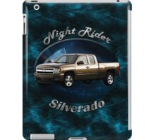 Chevy Silverado Truck Night Rider iPad Case/Skin