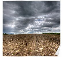 Ploughed Field Poster