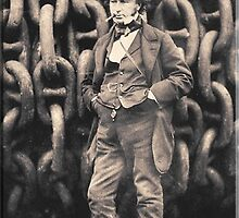 Brunel, Isambard Kingdom Brunel, Engineer, Genius, Steam Ship, Railway, Bridge, Tunnel by TOM HILL - Designer
