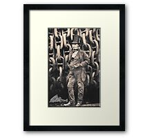 Brunel, Isambard Kingdom Brunel, Engineer, Genius, Steam Ship, Railway, Bridge, Tunnel Framed Print