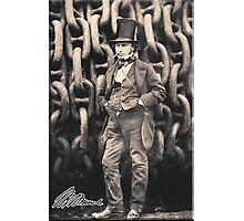 Brunel, Isambard Kingdom Brunel, Engineer, Genius, Steam Ship, Railway, Bridge, Tunnel Photographic Print