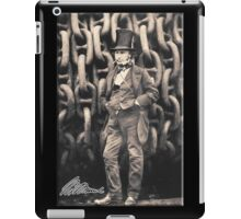 Brunel, Isambard Kingdom Brunel, Engineer, Genius, Steam Ship, Railway, Bridge, Tunnel iPad Case/Skin