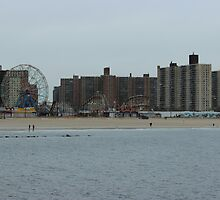 Coney Island by MBoothny