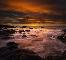 Kohala Coast Sunset by Kenji Ashman