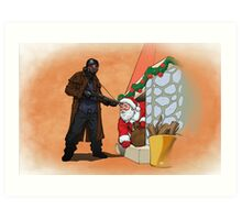 Omar Little strikes again Art Print