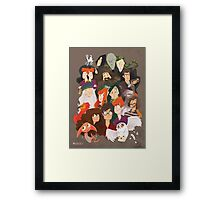 Harry Potter and the Order of Awesome Framed Print