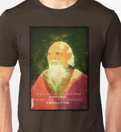 Lao Tzu, Wise, Wisdom, Confucius, Oldman, Quote, Epic, Words, Oriental Unisex T-Shirt