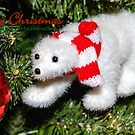 Polar bear Christmas by JEZ22