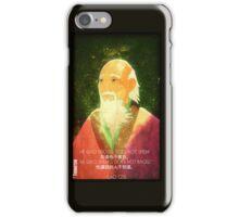 Lao Tzu, Wise, Wisdom, Confucius, Oldman, Quote, Epic, Words, Oriental iPhone Case/Skin