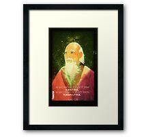 Lao Tzu, Wise, Wisdom, Confucius, Oldman, Quote, Epic, Words, Oriental Framed Print