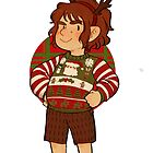 Christmas Bilbo by inchells