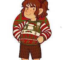 Christmas Bilbo by inchells