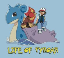 Life Of Pyroar Kids Clothes
