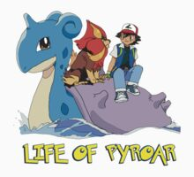 Life Of Pyroar Kids Tee
