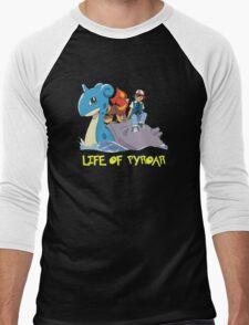 Life Of Pyroar Men's Baseball ¾ T-Shirt