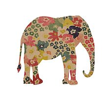 Elephant Flower Power by liberthine01