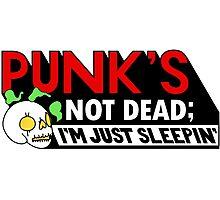 Punk's Not Dead; Photographic Print
