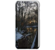 cold Sunset spot iPhone Case/Skin