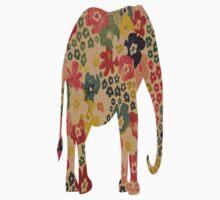 Elephant Flower Power T-Shirt