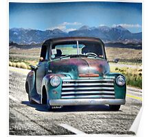 1953 Chevy Pick Up Poster