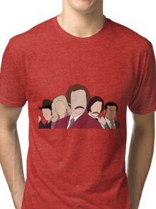 Anchorman faceless Tri-blend T-Shirt