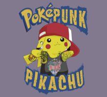 Poke' Punks - #25 Pikachu by Brandon Scribner