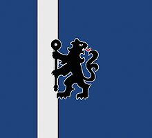 Chelsea Football iPad Cover Design by iArt Designs