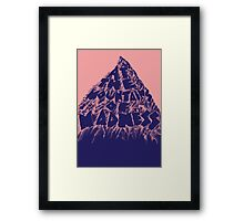 At the Mountains of Madness Framed Print