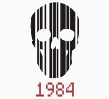 Barcode Skull 1984 by SeijiArt