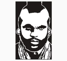 MR T.   A-team Laurence Tureaud Pity the Fool by 53V3NH
